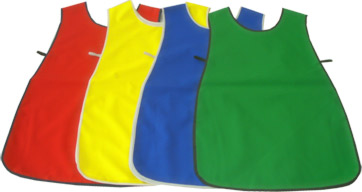 Children's waterproof tabard style aprons